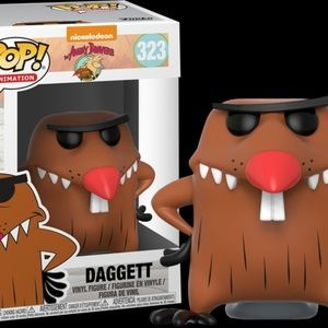 Angry Beavers DAGGETT Collectible Vinyl Figure